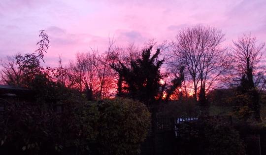 Sunset 17.11.12