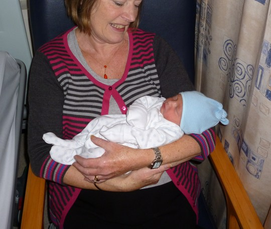 New Grandson for Neellan