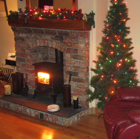 My New Fireplace & Stove...