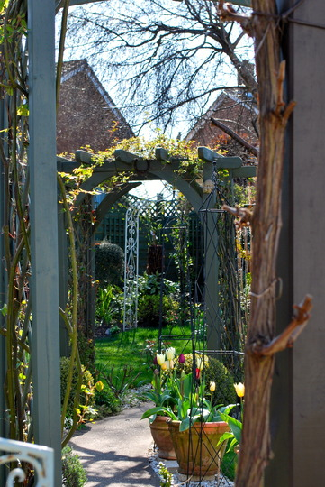 View through the arches.....