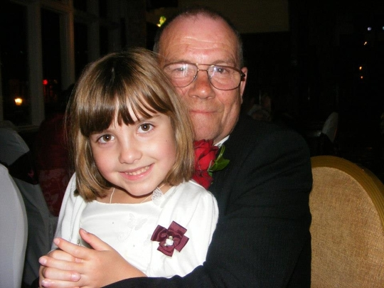 me and one of my lovely grandaughters:)