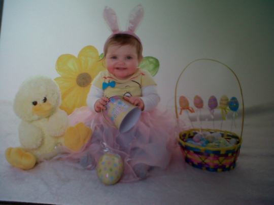 Who Could Resist this Pretty Little Easter Bunny