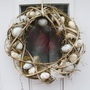 Unusual door wreath