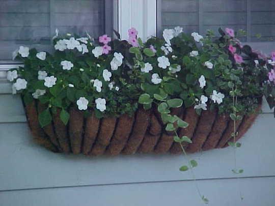 Flower baskets....