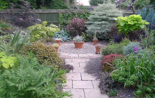 The foliage garden
