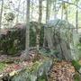 giant's dice...huge boulders