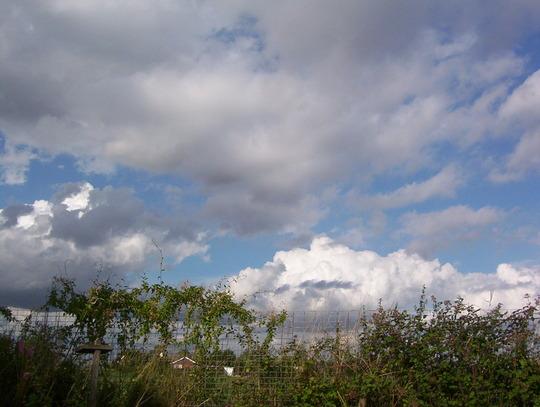 Wide open Norfolk skies