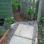 My new garden entrance path
