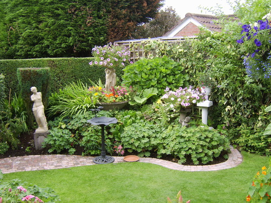 "The ""Three Graces"" also in Ziggybird's garden. Thank you for your kind comments"