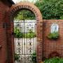 Wrought Iron gate design    for Kat