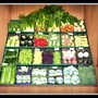 Colorful veg display