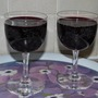 Grape juice.....from our own grapes. (Vitis  Boskoop Glory)