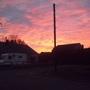 A beautiful sunset !