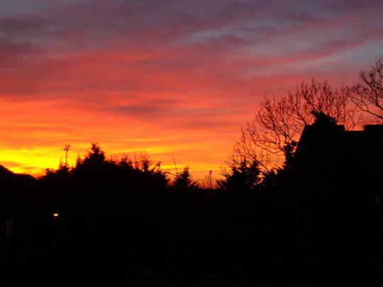 Sunset 8.12.13