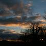 Sunset from back garden, Dec 1 2013