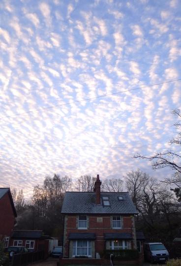 Morning sky - 5th January