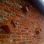 Nesting boxes from wine crates