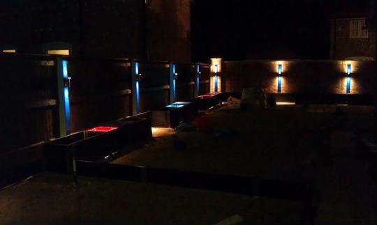 Spot lights on!