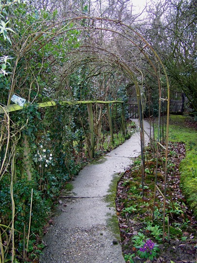 Leading you up the garden path