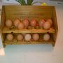 Home made Egg rack.