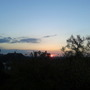 Sunset Saturday night