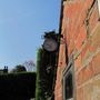 garden clock bird feeder