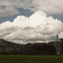 Clouds above Abergavenny