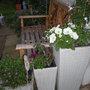 white planters