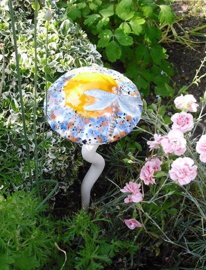 Colourful mushroom
