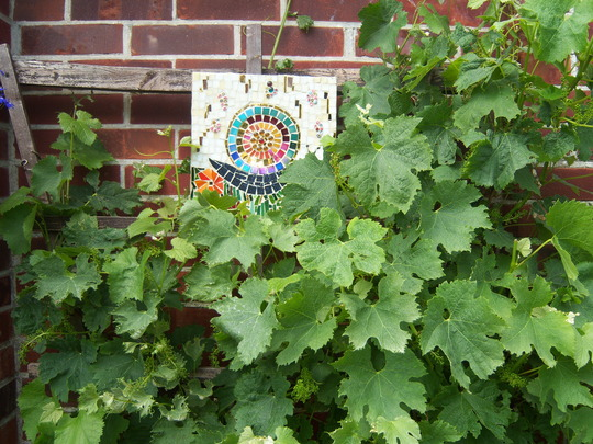 Grapevine and Snail Mosaic