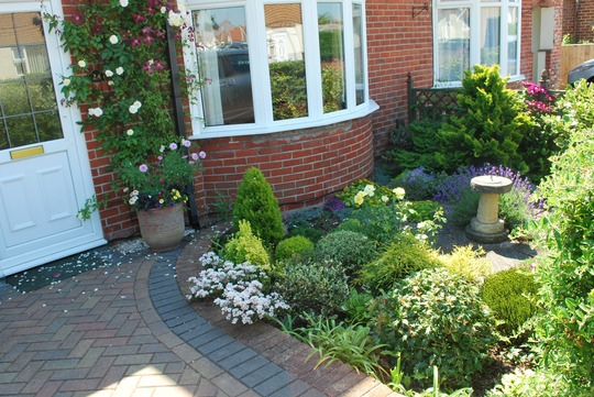 Our tiny front garden take one...