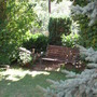 Place, where I usually rest in the garden with Noris.