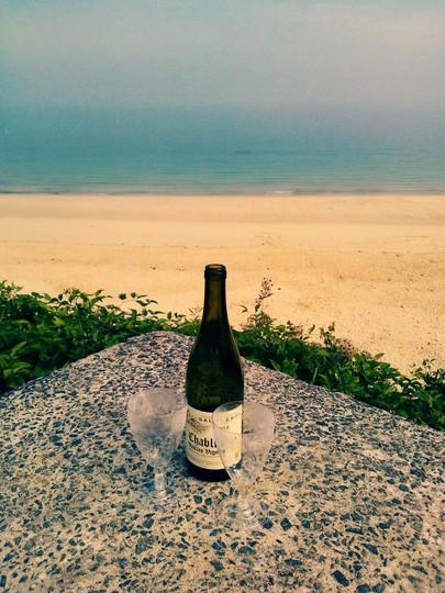 Someone had a romantic evening.....Carbis Bay