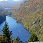 Lower and Upper Lake from Indian Head--Adirondacks