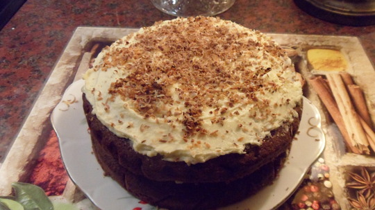 A Chocolate Coconut Cake