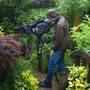 Filming in rain