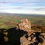 View from Mountain top above Killarney