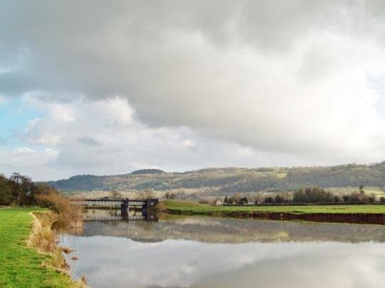 River Tywi at Dryslwyn