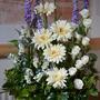Linda's latest flower arrangement
