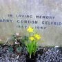 Mr Selfridges simple headstone