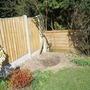 fence panel back