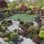 Upper garden in May