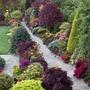 Upper garden path