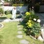my mother in the garden 2015