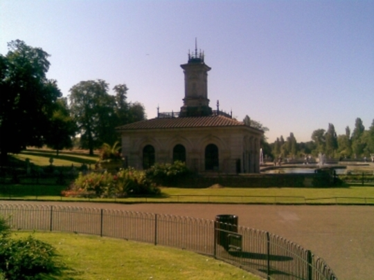 Kensington Gardens, Bayswater, A brief visit