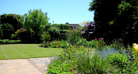A lovely day for working in the garden