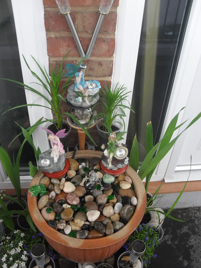 My little water feature