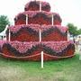 Hampton Court Flower Show 2015  25th anniversary cake