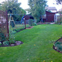 Back half of the garden
