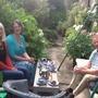 Karen and Scott visit Linda and Barry